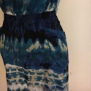 Vintage Dresses - Vintage Tie Dye Dress
